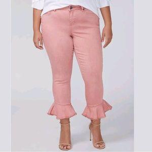 LANE BRYANT Skinny Crop Jeans